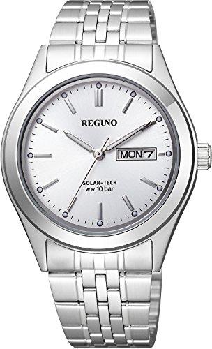 [シチズン] 腕時計 レグノ リングソーラー KM1-113-11 シルバー