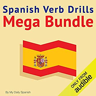 Spanish Verb Drills Mega Bundle cover art