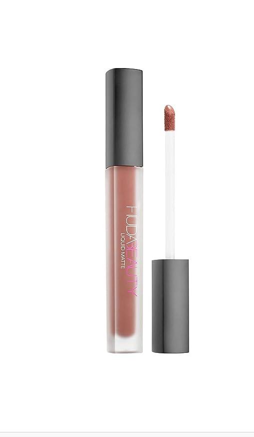 基礎地獄そうHuda Beauty Liquid Matte Lipstick ~ Full Size Unboxed ~ (stylish brown nude) Trendsetter [並行輸入品]