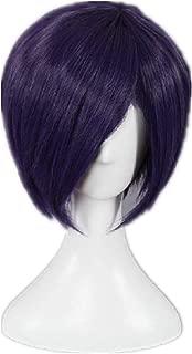 Kadiya Short Purple Synthetic Hair Anime Cosplay Wigs Synthetic Hair
