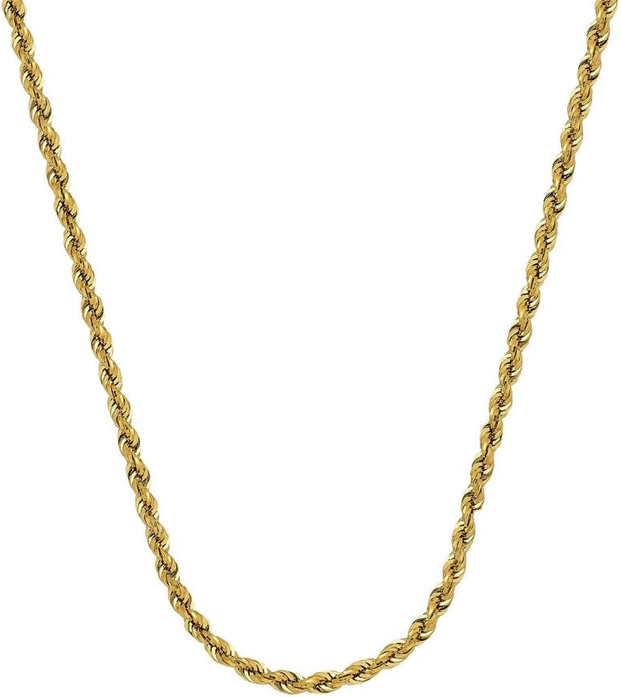 comprar descuentos Pulsera de cadena de oro amarillo de 14 quilates quilates quilates con cierre de pinza de langosta de 4 mm – 20 centímetros  online barato