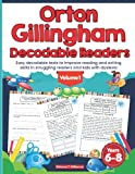 Orton Gillingham Decodable Readers. Easy decodable texts to improve reading and writing skills in struggling readers and kids with dyslexia.