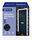 5.5m Ultrabrights Door Garland 800 LEDs in White by Premier