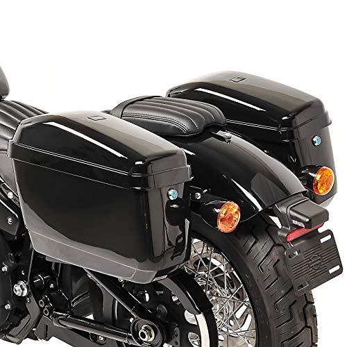 Seitenkoffer Nevada 20l für Harley Davidson Sportster 1200 CA/CB Custom