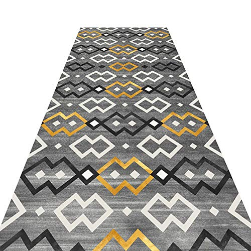 Takeashi Washable Modern Hallway Runner Rug Home Decorate Indoor or Outdoor Use Kitchen Rug for Entryway Slip Resistant Rubber Back Multipurpose Floor Protector MatFor Bedroom Living Room