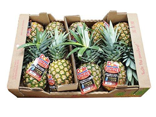 フィリピン産 パイナップル 10kg(6〜8玉)