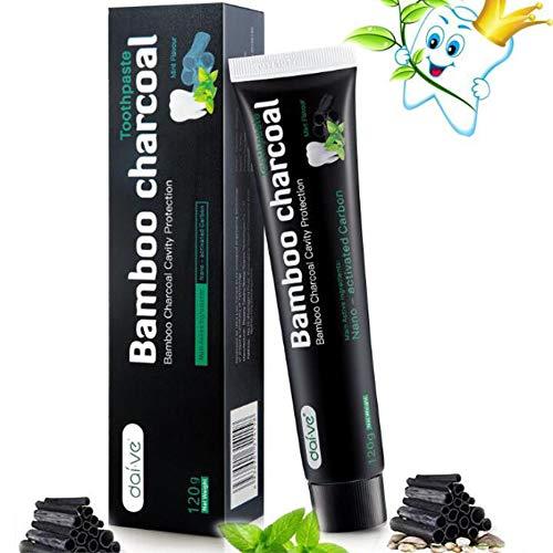 Aktivkohle Zahnpasta Weiße Zähne Bamboo Teeth Whitening Toothpaste Natürliche Fresh Breath Aktivkohle