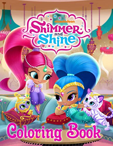 Shimmer And Shine Coloring Book: Easy Coloring Book For Fans Of Family Guy With Easy Coloring Pages In High-Quality   Perfect Way Encouraging Creativity And Build Hand-Eye Coordination