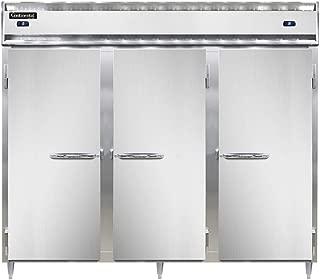 Continental Designer Fridge-Freezer Three-Section DL3RFFE-SS