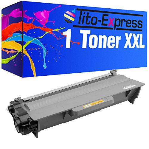 Tito-Express PlatinumSerie Toner-Patrone XXL Schwarz kompatibel mit Brother TN-3380 HL-5440 HL-5440D HL-5450 HL-5450D HL-5450DN HL-5450DNT HL-5470DW HL-5480DW HL-6180DW HL-6180DWT DCP-8110DN DCP-8250DN