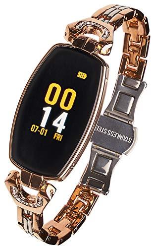 Garett Frauen Sara Smartwatch, Gold