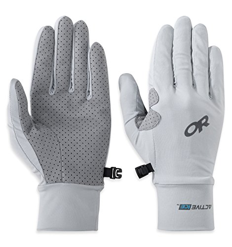 Outdoor Research Activeice Full Finger Chroma Sun Gloves alloy XS