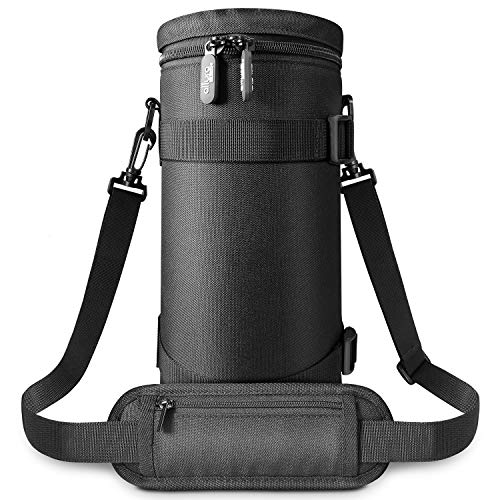 Deluxe Camera Lens Pouch Case by Altura Photo for Sigma 150-600mm, Tamron 150-600mm, JBL Xtreme Speakers and Other Telephoto Lenses