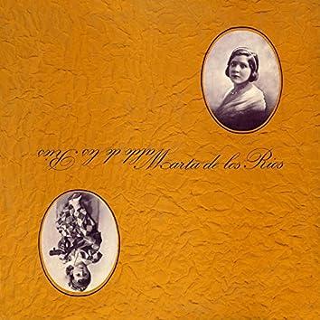 Marta de los Ríos y Waldo de los Ríos