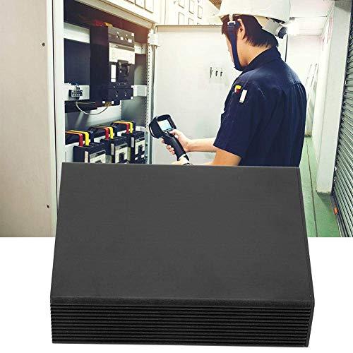 XUSHEN-HU Proyecto de Cuadro de división del Cuerpo de Aluminio, Placa de Circuito Impreso Negro de Aluminio Instrumento Caja del Caso del recinto Electronic Project