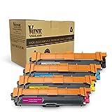 V4ink 4 x Compatible Cartucho de tóner TN241 TN245 for Brother HL-3140CW HL-3170CDW HL-3150CDW MFC-9340CDW MFC-9330CDW MFC-9140CDN DCP-9020CDW DCP-9015CDW MFC-9130CW (Negro, Cian, Magenta, Amarillo)