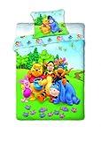 Unbekannt Faro Winnie The Pooh Ropa de Cama cojín 70x 80/160x 200, habitación de los Niños, 02, algodón, más Colores, 200x 160cm