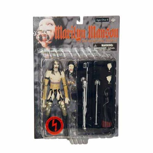 Rock and Roll Marilyn Manson The Beautiful People Fewture Models Action Figure Series FA-MO2