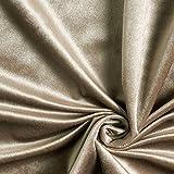 Fabulous Fabrics Dekostoff Samt – grau — Meterware ab