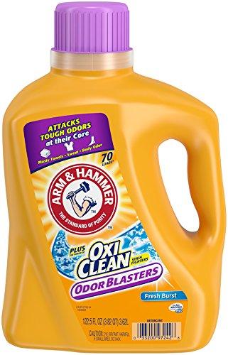 Arm amp Hammer Odorblasters Laundry Detergent Plus OxiClean Fresh Burst 1225 Fluid Ounce
