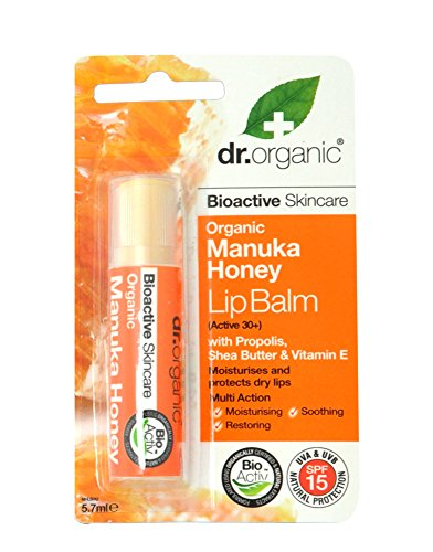 Dr.Organic Manuka Honey Balsamo Labbra 5,7 ml