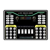 Huante X9 Vibrato Fast Hand K Song Dispositivo di Registrazione Dual Mobile Phone Live Broadcast Anchor USB 2-Channel Scheda audio