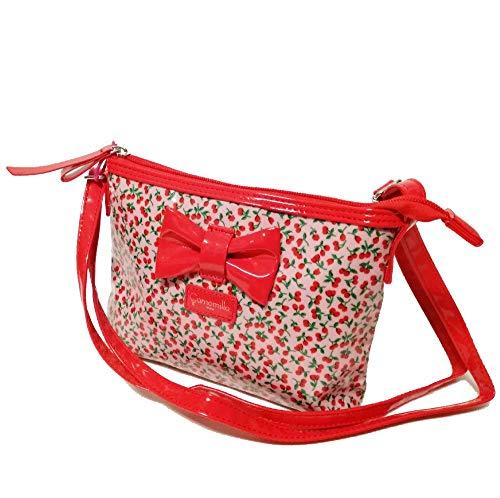 Camomilla tracolla mini shoulder bag cherry (Rosso)