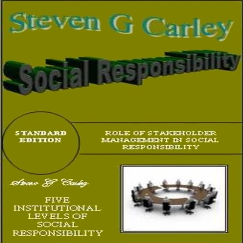 Social Responsibility audiobook cover art