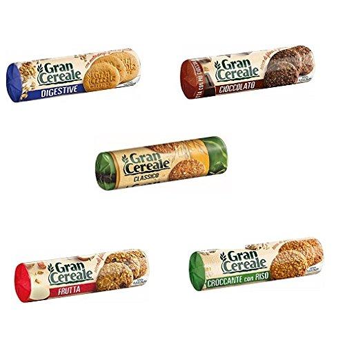 Mulino bianco Gran Cereale Test set kekse korn keks Multi Cerealien 5x 250g