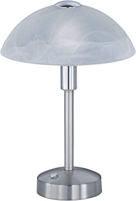 DONNA,Lámpara de mesa,incl. 1 x 5W LED, 3000K, 400Lm,↕ 26cm/ Ø 20cm