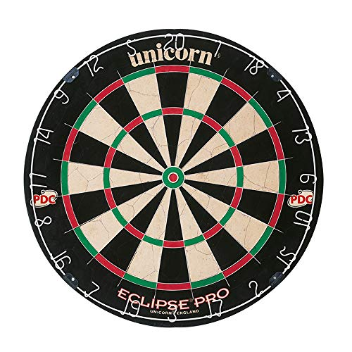 Unicorn Eclipse Pro Dart Board with Ultra Slim Segmentation – 30% Thinner Than Conventional Boards...