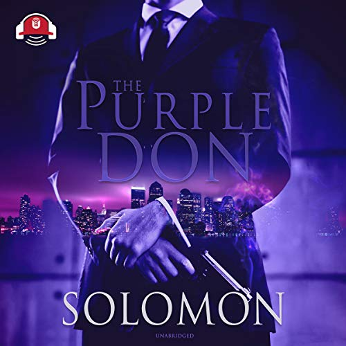 The Purple Don audiobook cover art