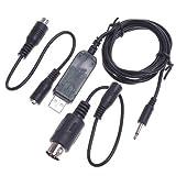 YUNIQUE ESPANA 1 Piezas Cable USB Simulador RC FMS para Flysky FS-i6 FS-i4 FS-TH9X FS-T6 FS-T4B FS-GT3 FS-GT2