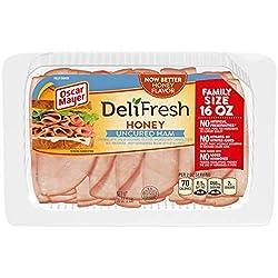 Oscar Mayer Deli Fresh Honey Uncured Ham Lunch Meat (16 oz Package)