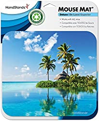in budget affordable HandStands Beach Scene Mouse Pads – Mouse Pads for Computers and Laptops – Works with All Mice