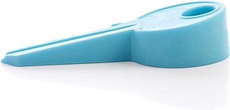 Deurstopper Wedge Finger Protector, Silicone Kleurrijke Key Style Deur Stops Veilig Flexibel voor Thuis en Kantoor