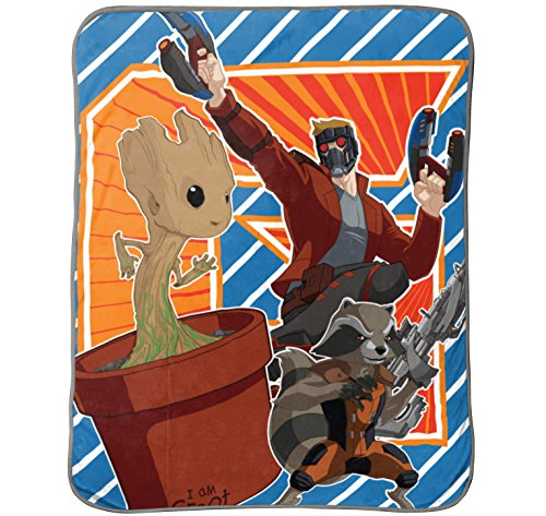 Marvel Guardians of The Galaxy 2 Outlaws Plush Throw