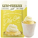 LOW CARB & KETO DESSERT - Sweet Logic Keto Mug Cake Mixes are an indulgent diet friendly sugar free dessert for those who love cupcakes or brownies but not the sugar. With only 4G Net Carbs, these mixes are made with healthy ingredients like almond f...