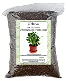 Planting Mix for Plant Propagation, Hand Blended Soilless Mix for Propagating Plants, House Plants, and More-4qt