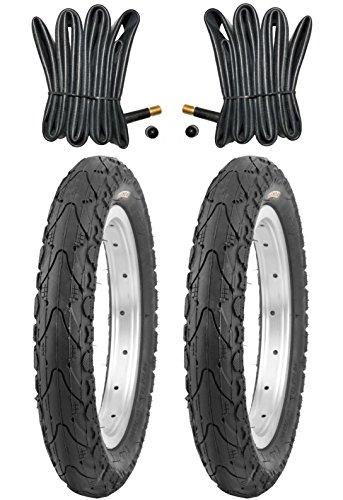 2 x Kenda Reifen Fahrradreifen 16 Zoll 47-305 16 x 1.75 inklusive 2 x Schlauch mit Autoventil
