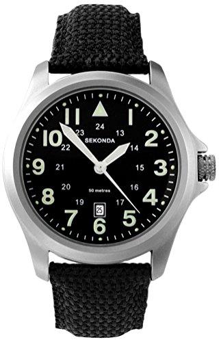 Sekonda Herren-Armbanduhr Analog Quarz 3347.27