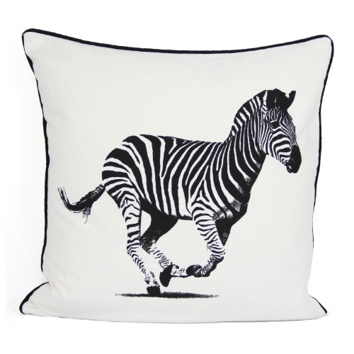 100% Cotton Printed Cushion Cover Design Zebra Size 18'x18'