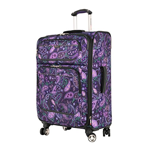 Ricardo Beverly Hills 4 Wheel Expandable Upright, Purple Paisley, 24'