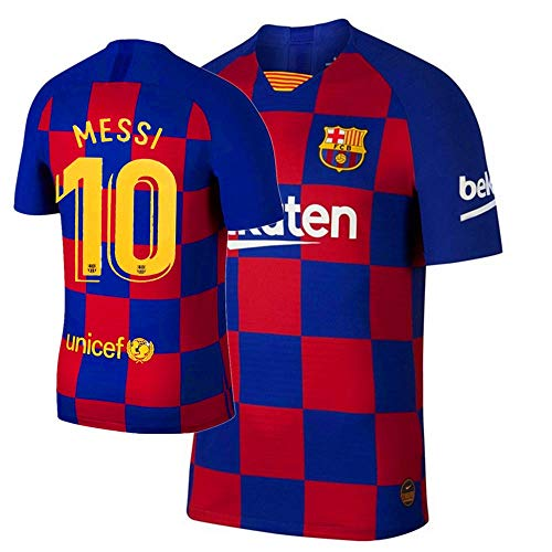 Barcelona Home 10 Messi Herren Trikot Saison 2019-2020 - mehrfarbig - Klein