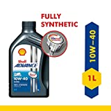 Shell Advance Ultra 4T 10W-40 API SN Fully Synthetic Motorbike Engine Oil (1 L)