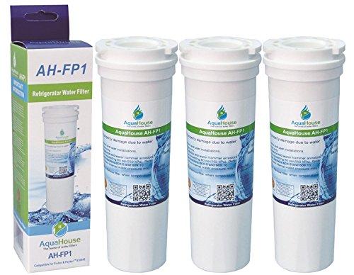 3x AH-FP1 kompatibel für Fisher & Paykel Kühlschrank Wasserfilter 836848, 836860, 67003662