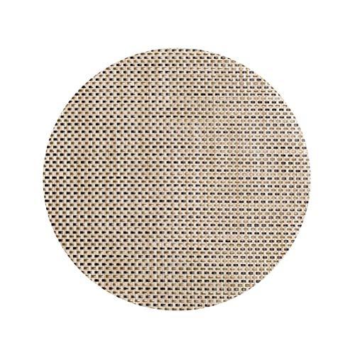 BESTONZON Sets de table ronds pour tapis de table d'isolation thermique antidérapants pour table de restaurant d'hôtel (vert)