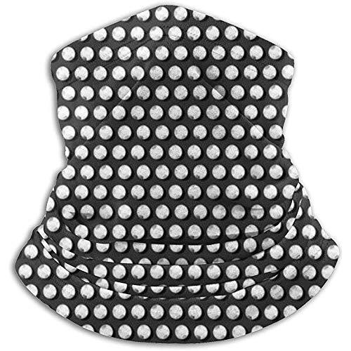 Cuello Bufanda Cristal Transparente Diamante Lentejuelas Pasamontañas Máscara de esquí Más cálido Invierno Abrigo para la Cabeza