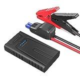 RAVPower Démarreur de Voiture 10000mAh Peak 400A Jump Starter avec Protection Intelligente, Booster Batterie avec Ports iSmart 2.0 Moteur à Essence Jusqu'à 3L