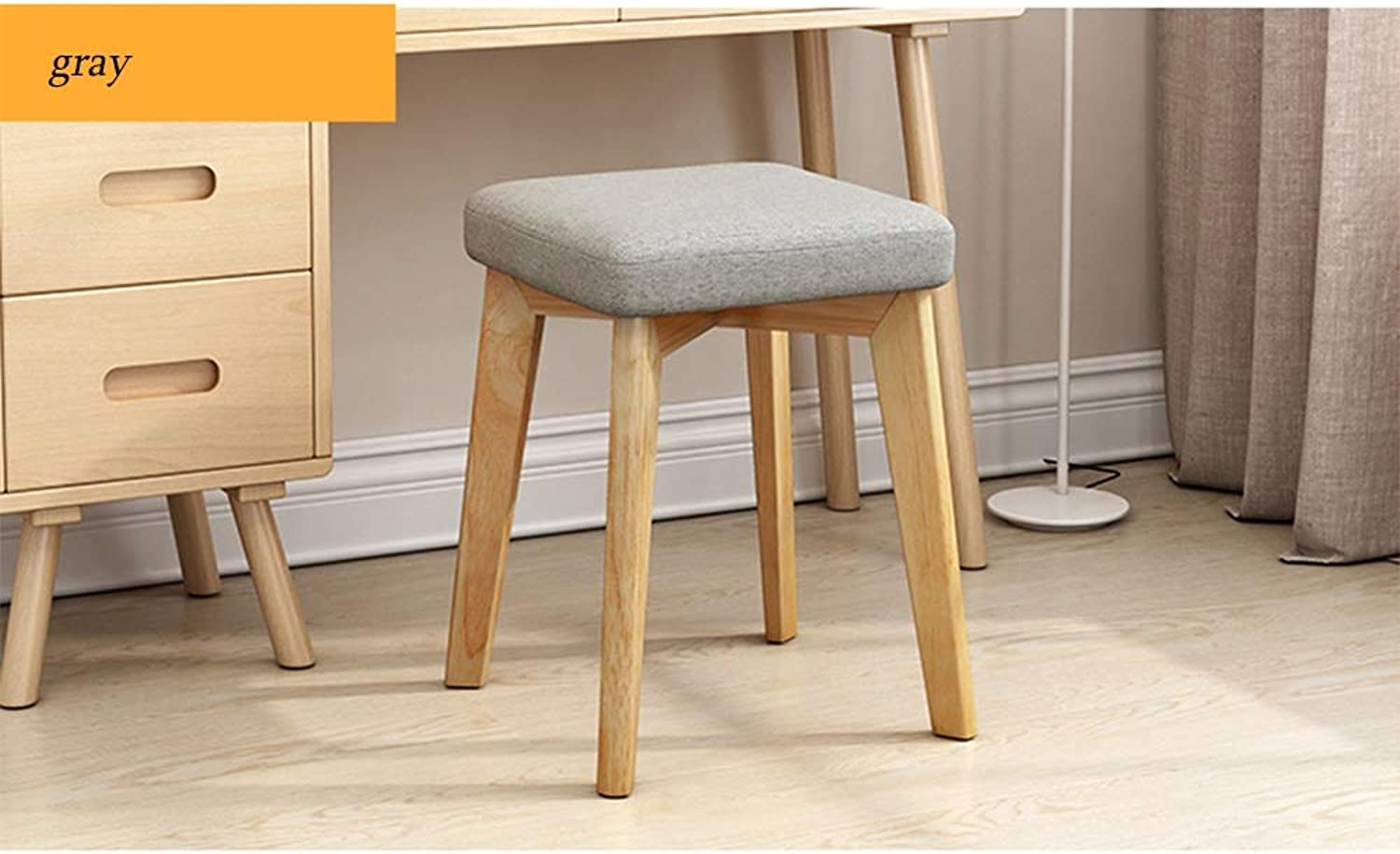 Stool Home Solid Wood Small Bench Sofa Stool Fashion Creative Simple Modern Small Chair Low Stool